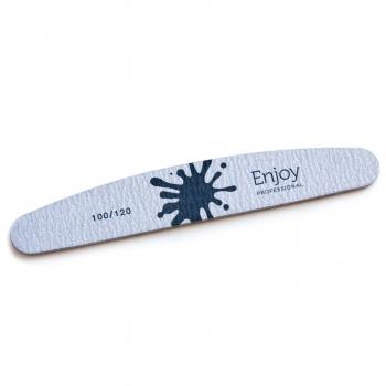 Пилка для ногтей Полумесяц 100/120 (ZF311)