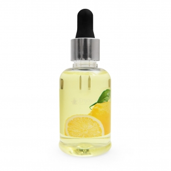 "Масло для кутикулы с пипеткой c ароматом Лимонa ""Yellow Cuticle oil"" 50 мл"