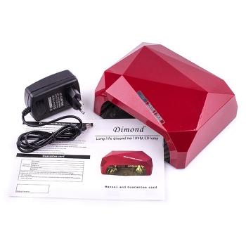 Лампа Diamond CCFL+LED 36W Red(красная)