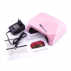 Лампа Diamond CCFL+LED 36W Pastel Pink(пудра)