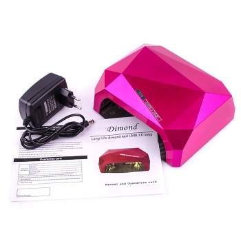 Лампа Diamond CCFL+LED 36W Pink (розовая)
