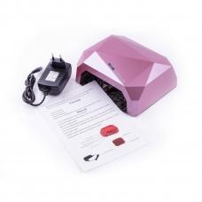 Лампа Diamond CCFL+LED 36W Rose Champagne (розовое-шампанское)